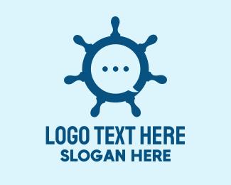 Forum - Marine Steering Wheel logo design