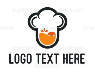 Bartender - Juice Chef logo design