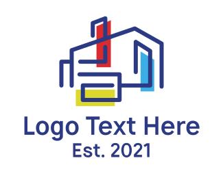 Art - Art Gallery House logo design