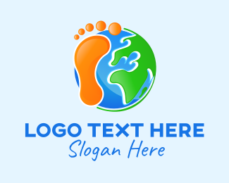 Footprint - Global Footprint logo design
