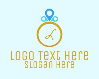 Location - Ring Locator logo design