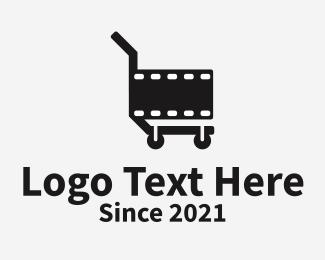 Youtube - Film Cart logo design