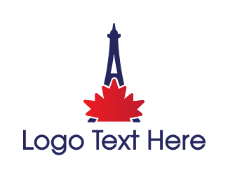 French - French Canadian logo design