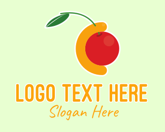 Fruit Store - Tropical Fruit Juice logo design