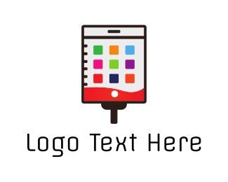 Calendar - Medical Application logo design