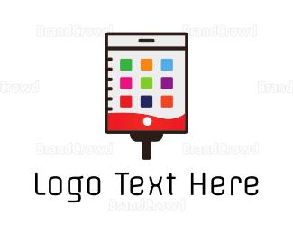 Aid - Medical Application logo design