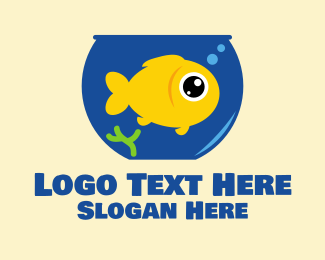 Seaweed - Big Goldfish Bowl logo design