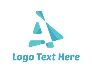 Cursor - Abstract Arrow  logo design