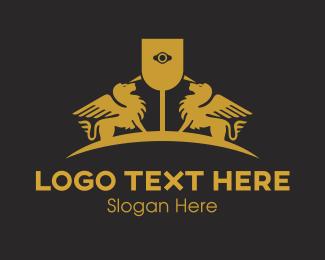 Sphinx - Grey Sphinx  logo design