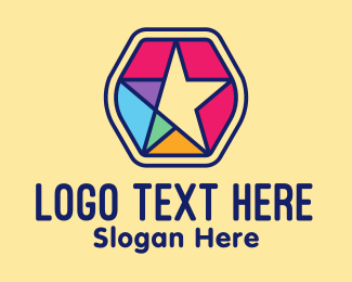 Kids Accessories - Colorful Generic Star  logo design