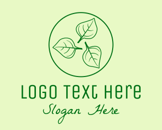 Seeding - Green Organic Herbs  logo design