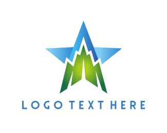 Coach - Mountain Star logo design