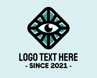 Eye - Hypnotic Eye Box logo design