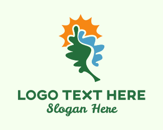 Leaf River & Sun Logo