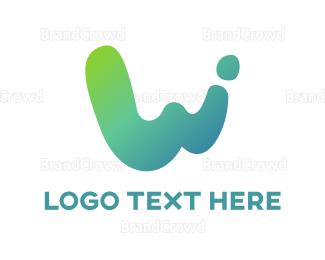 Website - Abstract W  logo design