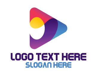 Dvd - Colorful App Store logo design