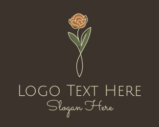 Facelift - Rose Stalk logo design