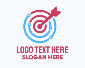 Hit - Tech Target logo design