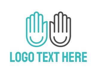 Happy - Happy Hands logo design