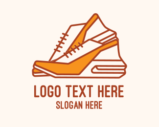 Sandals - Cute Women Shoes logo design