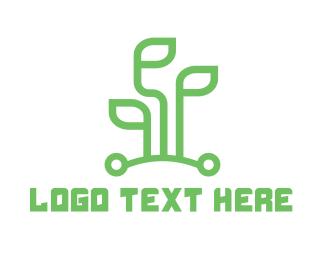 Green Leaf - Green Leaf Tech logo design