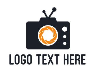 Videographer - Media Camera  logo design