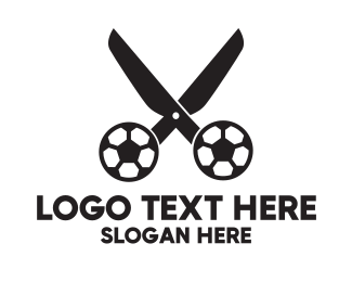 Soccer - Soccer Scissors  logo design