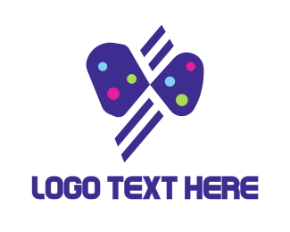 Beautiful - Flying Butterfly logo design