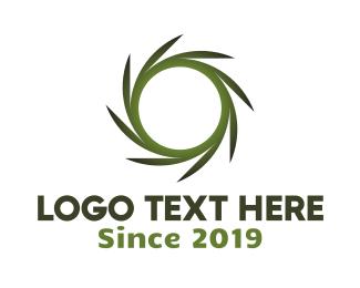 Green Circle - Nature Circle logo design