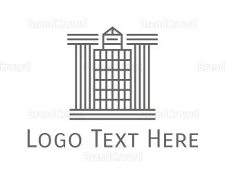 Accountant - Modern Architecture logo design