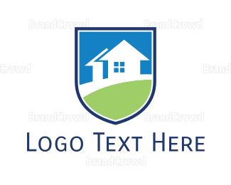 Realty - Realty Shield logo design