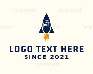 Build - Rocket City logo design