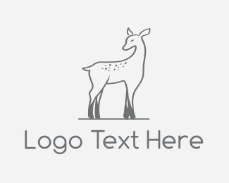Kids - Deer Fawn logo design