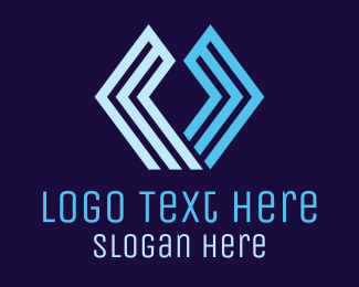 Accounting - Hexagonal U Brand logo design