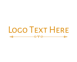Delicate - Golden Hotel Wordmark logo design