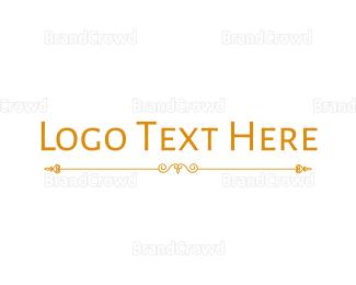 Condominium - Golden Hotel Wordmark logo design