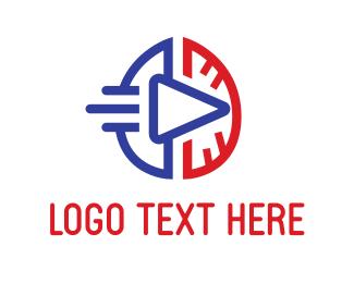 Brain - Brain & Play logo design
