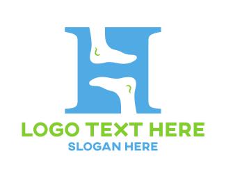 Walk - Foot Care logo design