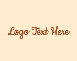 Chocolate - Chocolate Cursive Wordmark logo design