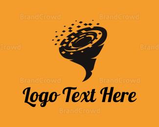 Breeze - Data Tornado logo design