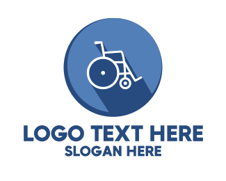 Disability - Emergency Wheelchair logo design