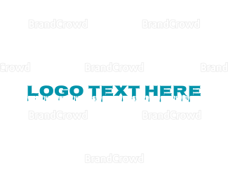 Liquid - Blue Liquid logo design