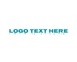 Liquid - Blue Liquid logo design