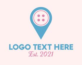 Locator - Button Location logo design