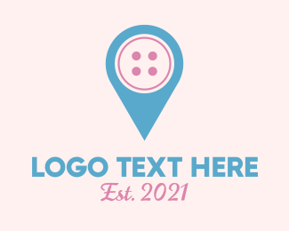 Gps - Button Location logo design