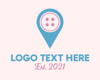 Apparel - Button Location logo design