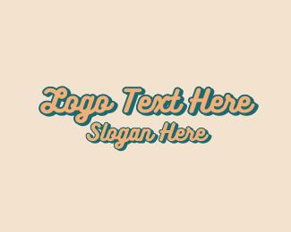 Design - Vintage Fashion Design Wordmark logo design