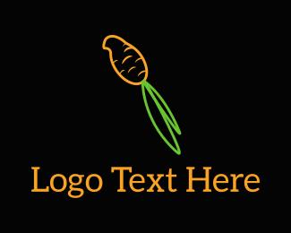 Carrot - Carrot Parrot logo design