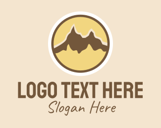 Park - Nature Park Mountain  logo design