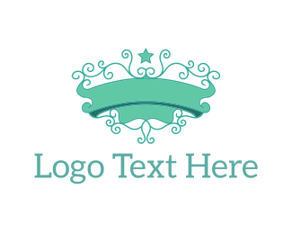 High Tea - Mint Emblem logo design